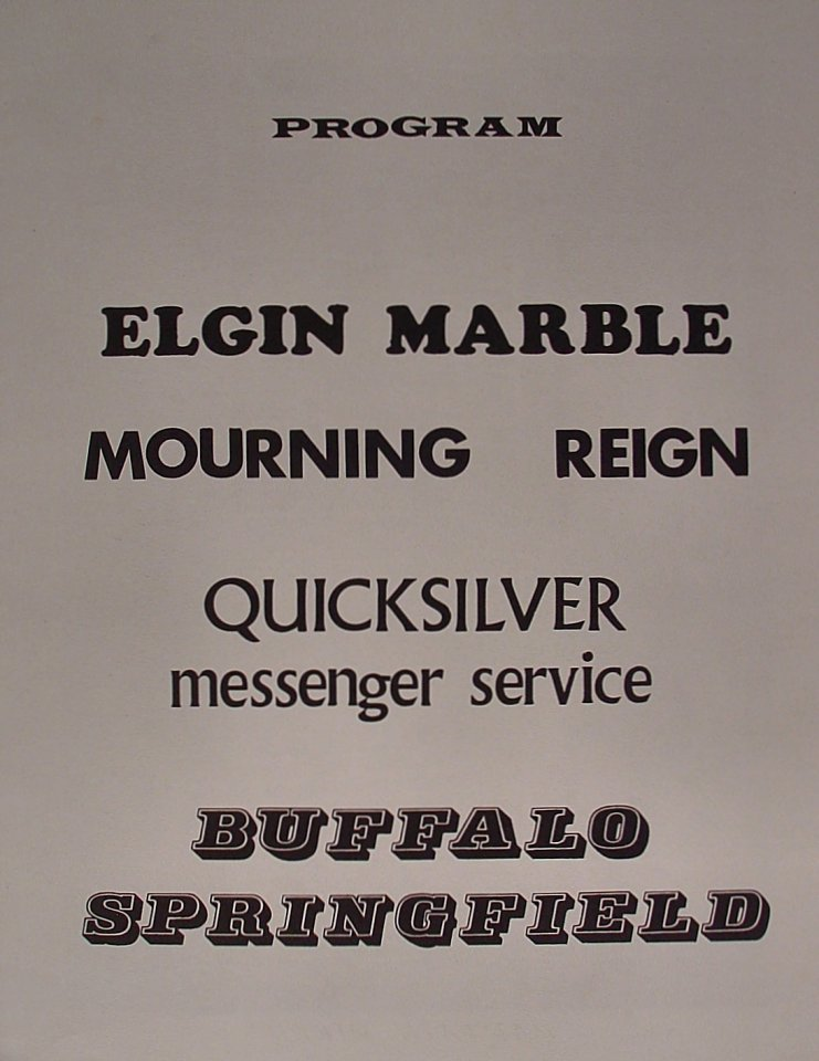 Elgin Marble Program