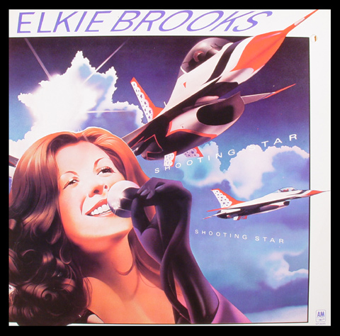 Elkie Brooks Framed Album Cover