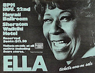 Ella Fitzgerald Poster