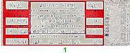 Ella Fitzgerald Vintage Ticket