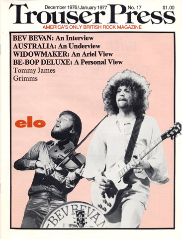 ELO Trouser Press Magazine