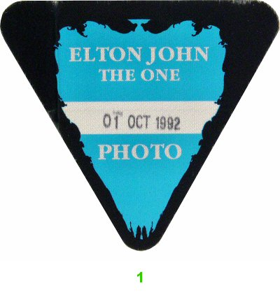 Elton JohnBackstage Pass