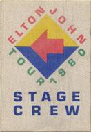 Elton John Backstage Pass