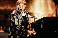 Elton John BG Archives Print