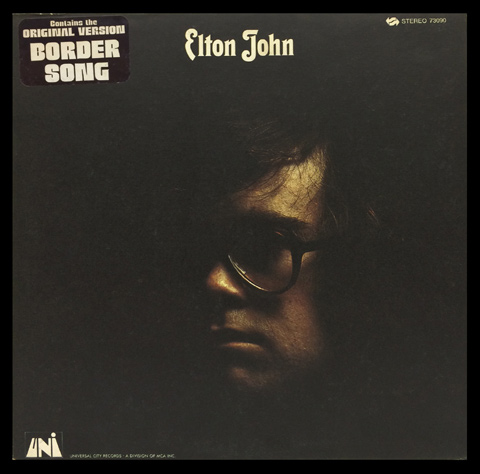 Elton John Framed Album Cover