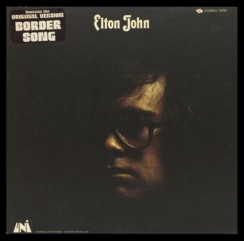 Elton JohnFramed Album Cover