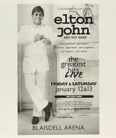 Elton JohnHandbill