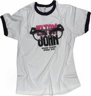 Elton John Men's Retro T-Shirt