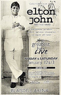 Elton John Poster