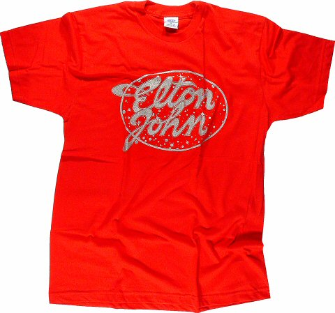 Elton John Women's Retro T-Shirt