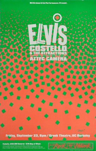 Elvis Costello &amp; the Attractions Poster