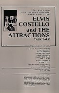 Elvis Costello & the Attractions Program