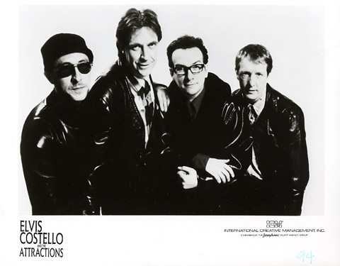 Elvis Costello & the Attractions Promo Print