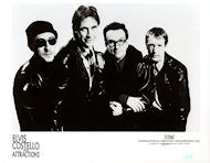 Elvis Costello &amp; the Attractions Promo Print