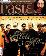 Elvis Costello Paste Magazine