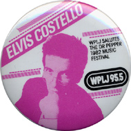 Elvis Costello Pin