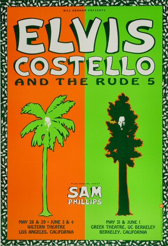 Elvis Costello Poster