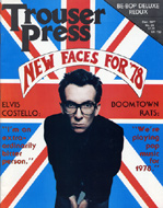 Elvis Costello Trouser Press Magazine