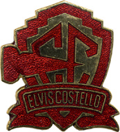 Elvis Costello Vintage Pin