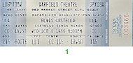Elvis Costello Vintage Ticket