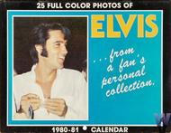 Elvis Presley Wall Calendar