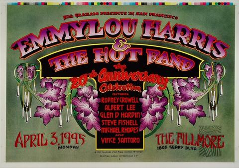 Emmylou Harris & The Hot Band Proof