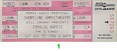 Emmylou Harris1990s Ticket