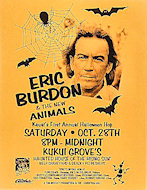 Eric Burdon &amp; The Animals Handbill