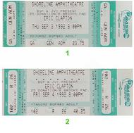 Eric Clapton 1990s Ticket