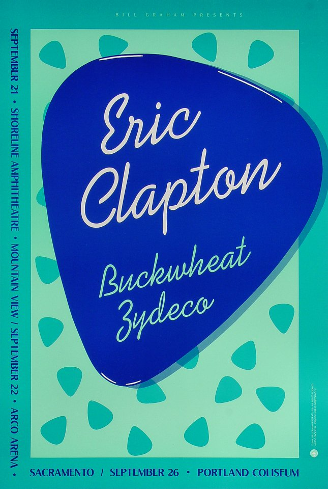 Eric ClaptonPoster
