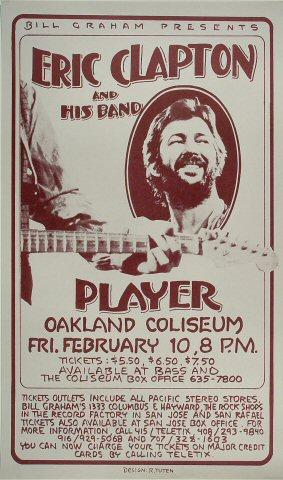 Eric ClaptonPoster