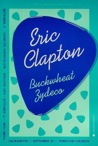 Eric Clapton Poster