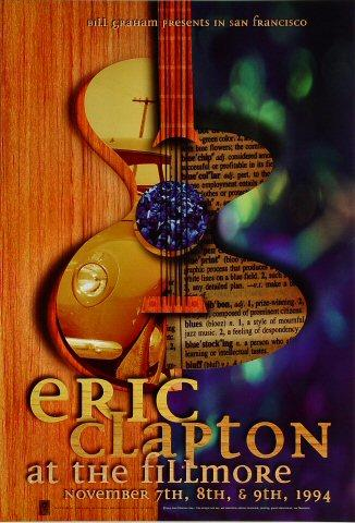 Eric Clapton Poster