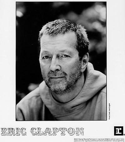 Eric Clapton Promo Print