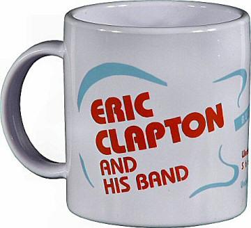 Eric ClaptonVintage Mug