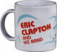 Eric Clapton Vintage Mug