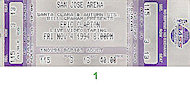 Jimmie Vaughan Vintage Ticket