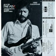 Eric Clapton Wall Calendar