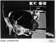 Eric Johnson Promo Print