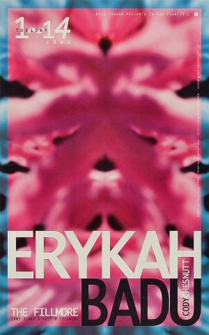 Erykah Badu Poster
