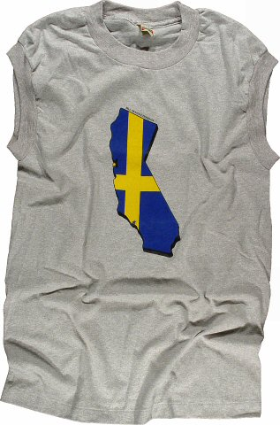 EuropeMen's Vintage T-Shirt