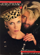 Eurythmics Book
