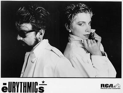 Eurythmics Promo Print