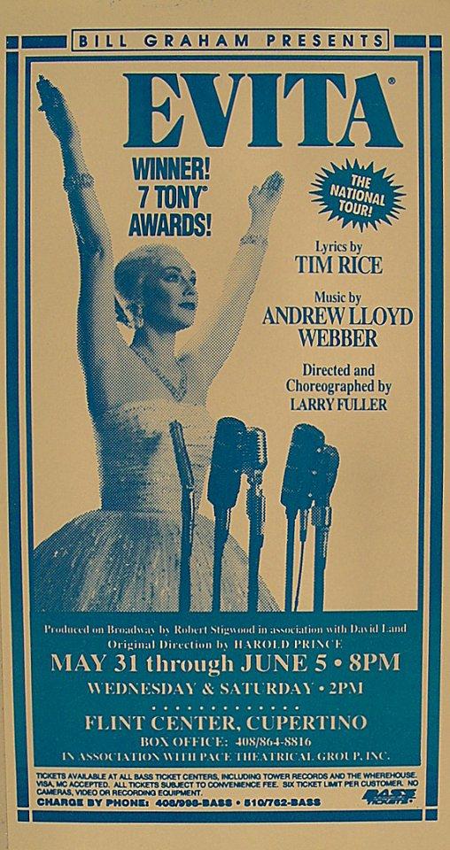 Evita Handbill
