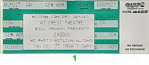 Exodus Vintage Ticket