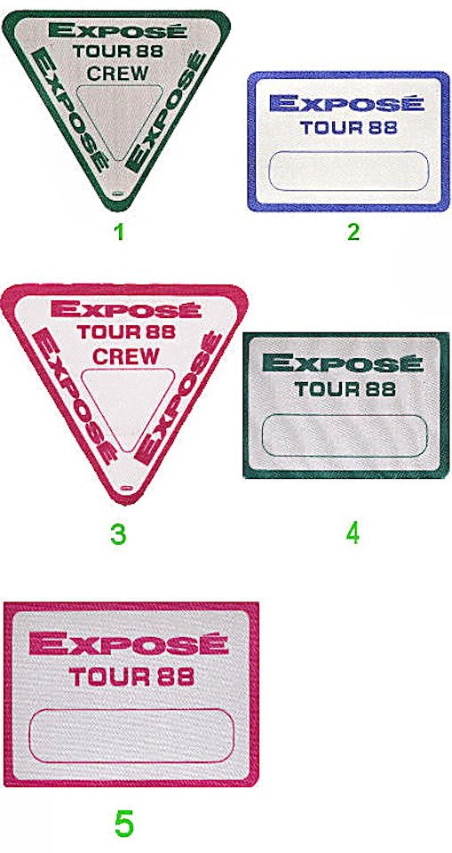 Expose Backstage Pass