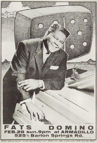 Fats Domino Handbill