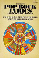 Favorite Pop/Rock Lyrics Book
