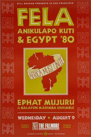 Fela Kuti Poster