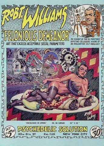 Felonious Demeanor Postcard